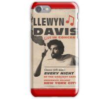 Llewyn Davis Live in Concert iPhone Case/Skin