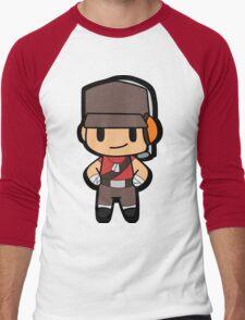 Chibi Scout Men's Baseball ¾ T-Shirt
