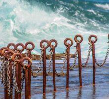 Ocean pool Newcastle NSW Australia Sticker