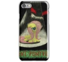 silent ponyville iPhone Case/Skin