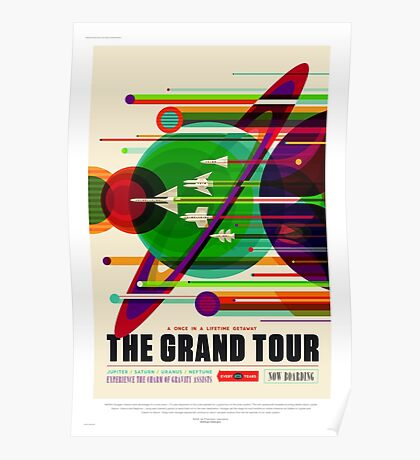 The Grand Tour - NASA/JPL Travel Poster Poster