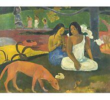 Paul Gauguin - Arearea 1892 Landscape  Photographic Print