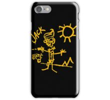 Doodle Jack - Borderlands iPhone Case/Skin