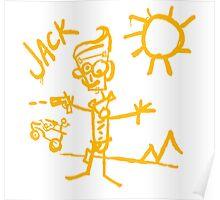 Doodle Jack - Borderlands Poster