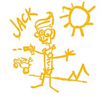 Doodle Jack - Borderlands Photographic Print