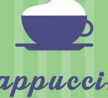 Cappuccino Sticker