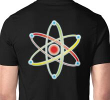 ATOM, ATOMIC, SMALL, Physics, Science, Neutrons, Protons, Electrons, Nuclear, Energy, Fission, Fusion  Unisex T-Shirt