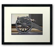 medieval bronze cannon Framed Print