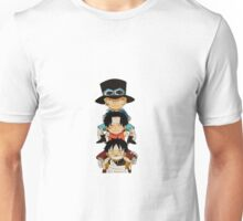luffy sabo and ace Unisex T-Shirt