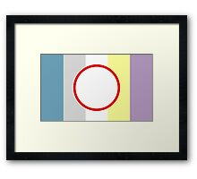 Objectum Sexuality Pride Framed Print