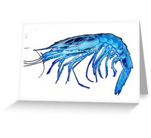X-ray shrimp 2.0 PNG Greeting Card