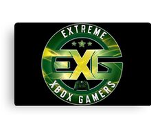 Extreme Xbox Gamers Canvas Print