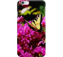 Tiger Swallowtail on Azalea iPhone Case/Skin