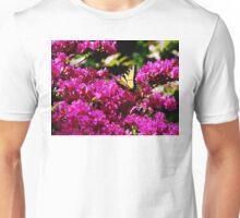 Tiger Swallowtail on Azalea Unisex T-Shirt
