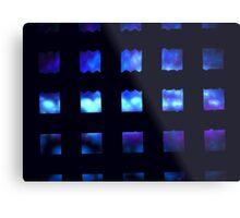 Sea Cubes Metal Print