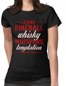 Fireball whisky Womens Fitted T-Shirt