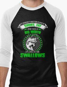 Funny fishing Men's Baseball ¾ T-Shirt