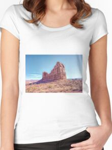Artistic Erosion Women's Fitted Scoop T-Shirt