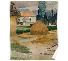 Paul Gauguin - Landscape near Arles 1888 Poster