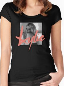 Kylie + Garibay Women's Fitted Scoop T-Shirt