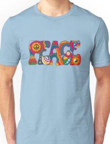 Psychedelic Peace Unisex T-Shirt