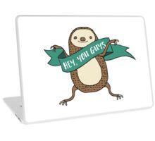 Sloth Illustration Laptop Skin