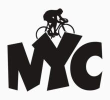 NYC Biking Kids Tee