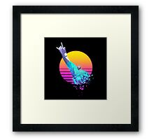 FRAGMENTAL LOGO BY RUFFIAN GAMES Framed Print