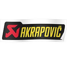 Akrapovic Poster