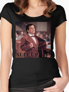 My cousin Vinny - SUIT UP Women's Fitted Scoop T-Shirt