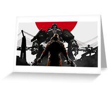 Wolfenstein - Japan Greeting Card