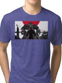 Wolfenstein - Japan Tri-blend T-Shirt