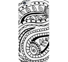 Colour In Paisley iPhone Case/Skin