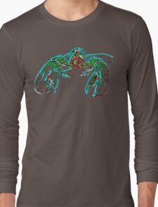 X-ray lobster PNG Long Sleeve T-Shirt