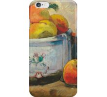 Paul Gauguin - Still Life with Peaches  1889 iPhone Case/Skin