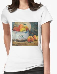 Paul Gauguin - Still Life with Peaches  1889 Womens Fitted T-Shirt