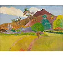 Paul Gauguin - Tahitian Landscape  Photographic Print