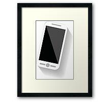 Smart Cell Phone Framed Print