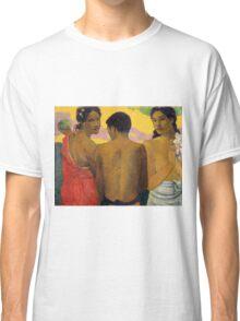 Paul Gauguin - Three Tahitians  Classic T-Shirt