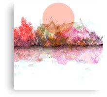 An Unusual Sunset Canvas Print