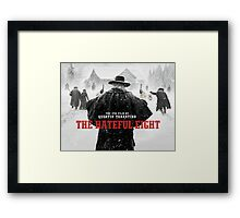 hateful eight Framed Print