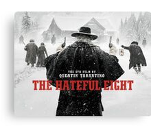 hateful eight Canvas Print