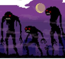 Pixel Zombies Rising Sticker