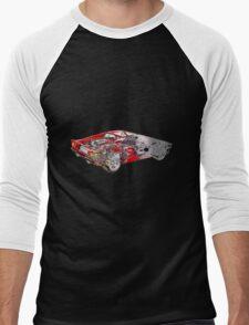 Ferrari F355 Men's Baseball ¾ T-Shirt