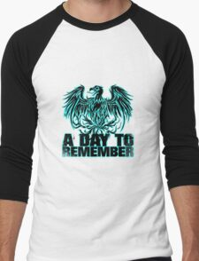 A Day To Remember Blue Eagle Men's Baseball ¾ T-Shirt