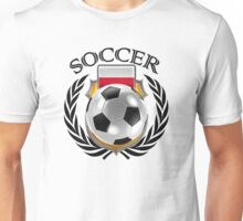 Poland Soccer 2016 Fan Gear Unisex T-Shirt