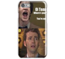 Doctor Who humor iPhone Case/Skin
