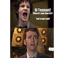 Doctor Who humor Photographic Print