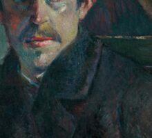 Paul Gauguin - Self Portrait Sticker