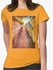 The Rainbow Path - CaMERA6 Womens Fitted T-Shirt